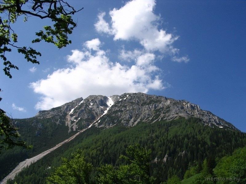 A Schneeberg ÉK-i oldala