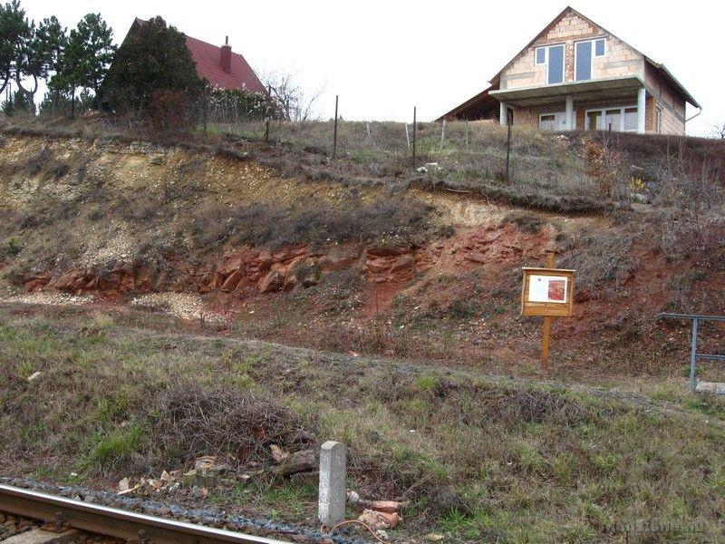 Nádaskúti-kőfejtő, perm/triász határ