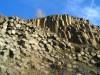 Vízszintes, függőleges bazaltoszlopok