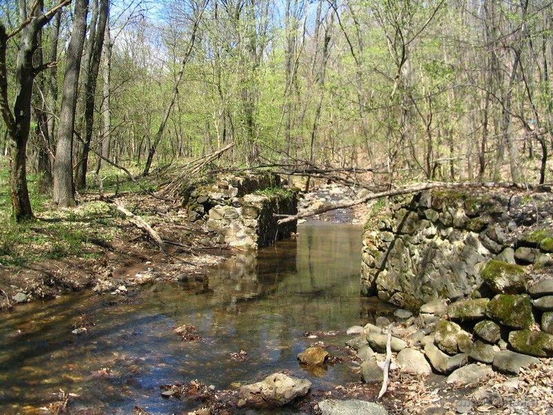 A kisvasút egyik volt hídja