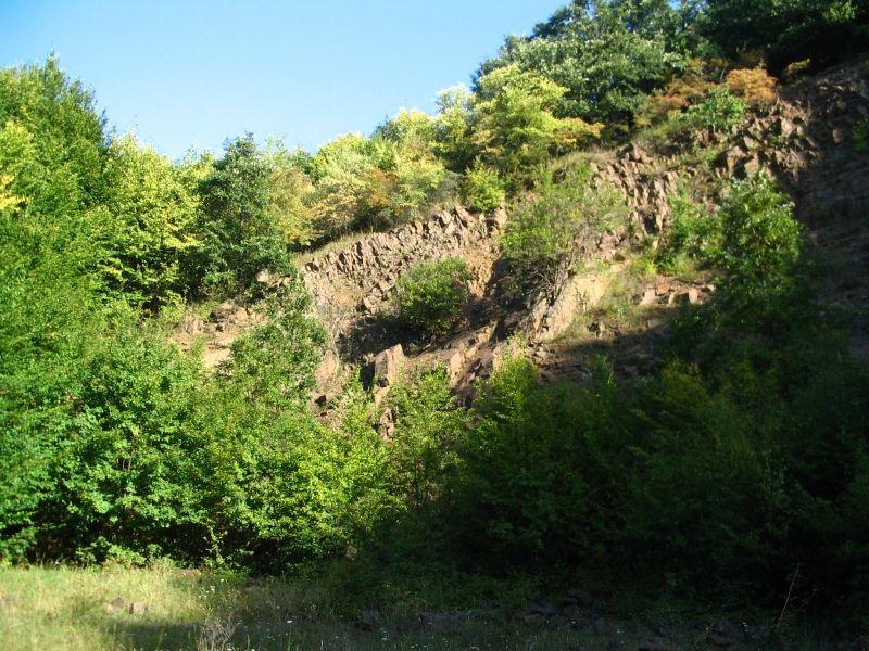 Ahol semmit sem találtunk: kőfejtő a Szén-patak völgyében