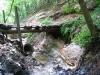 A patak tovább mélyítette medrét a Tolvaj-árokban