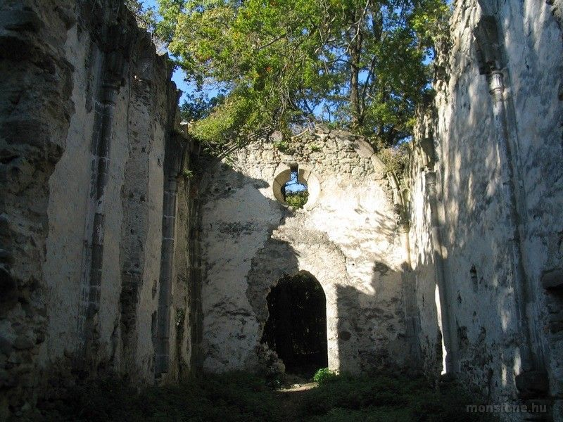 A gönci pálos kolostor romjai